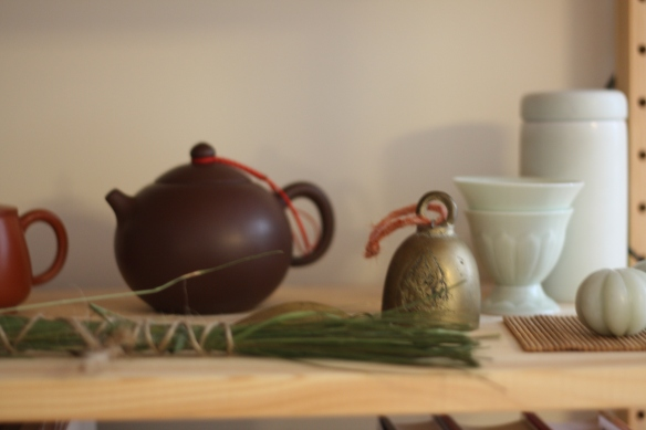 Tea Pot and Sweet Grass